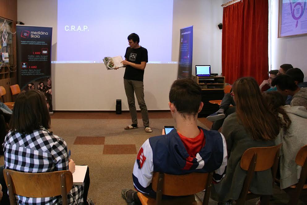 InformácieMediálna škola v Žiline: Druháci vytvorili kampaň