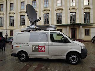 Stáž v spravodajstve- Česká televize