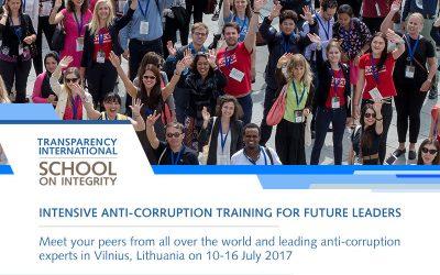 "Transparency International ""Škola integrity"""