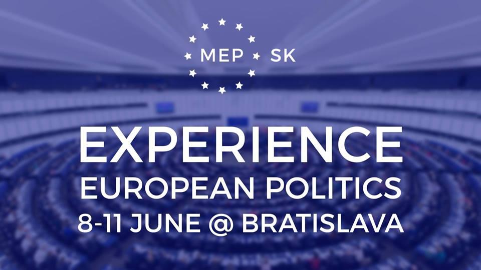 PonukyModelové zasadnutie Európskeho parlamentu v Bratislave