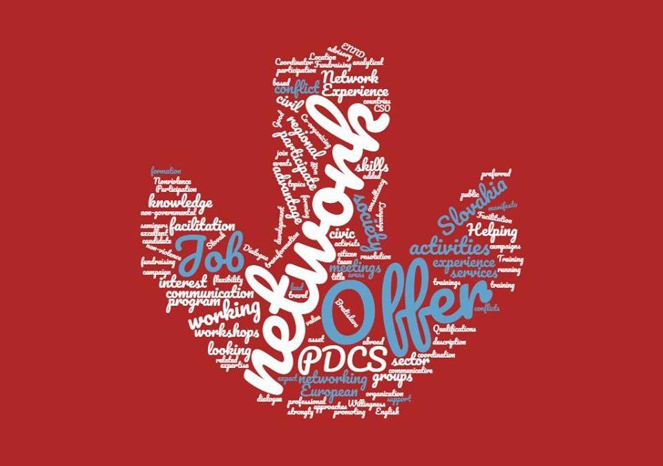 PonukyPracovná ponuka od PDCS