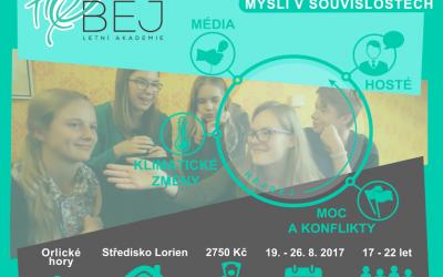 """Letná akadémia """"Hejbej 2017"""""""