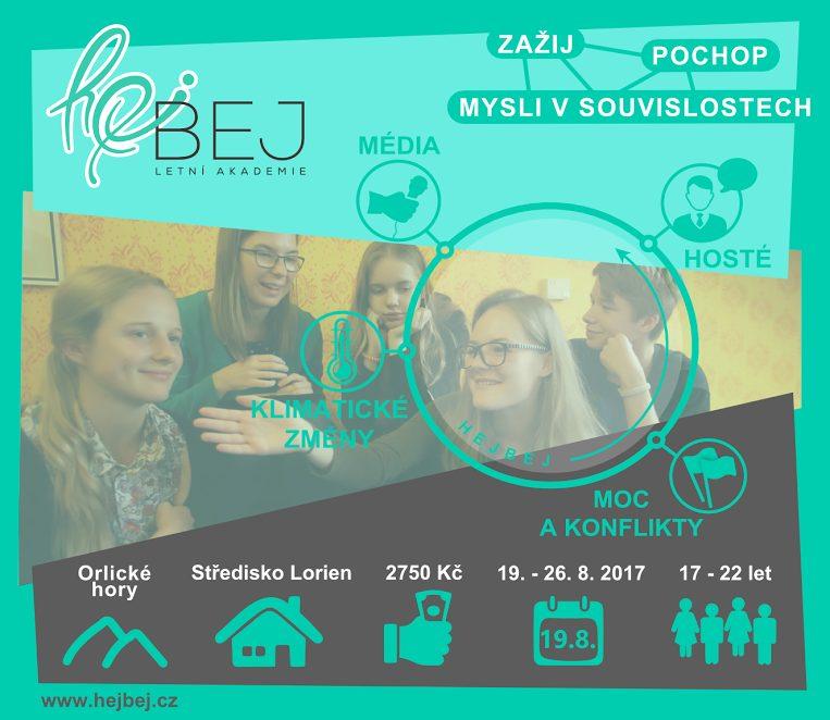 """PonukyLetná akadémia """"Hejbej 2017"""""""