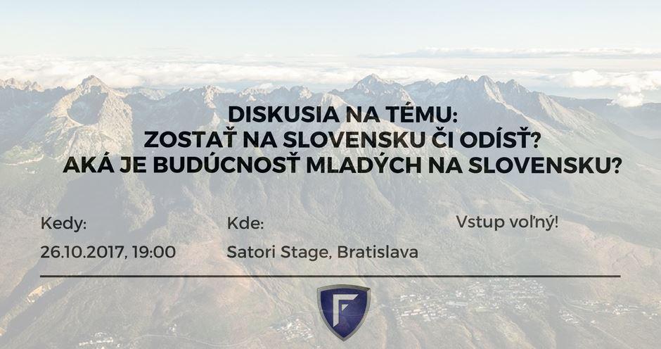 PonukyZostať na Slovensku či odísť? Aká je budúcnosť mladých na Slovensku?