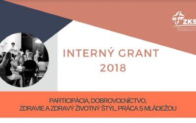 ZKSM podporí 22 mládežníckych projektov, ktoré získali dotáciu z projektu Interný grant