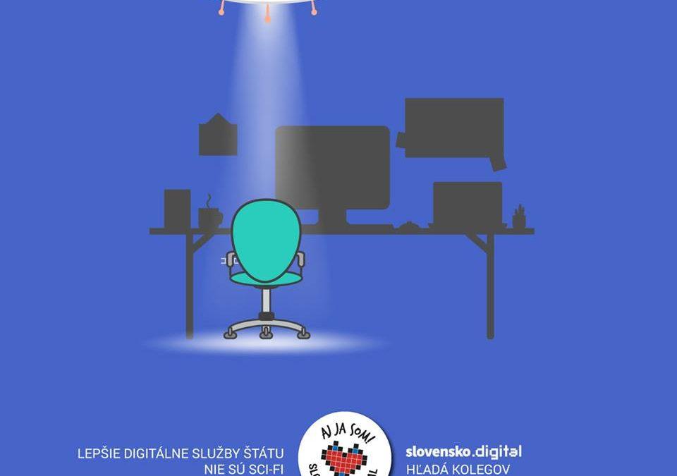 PonukySlovensko.Digital hľadá nové kolegyne/nových kolegov