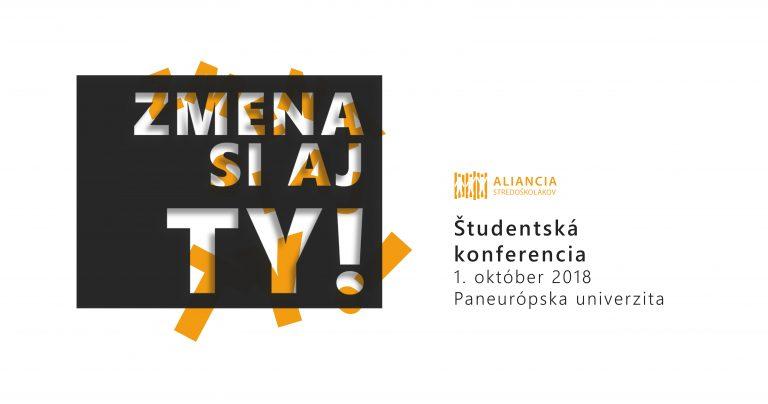 PonukyŠtudentská konferencia: Zmena si aj ty!