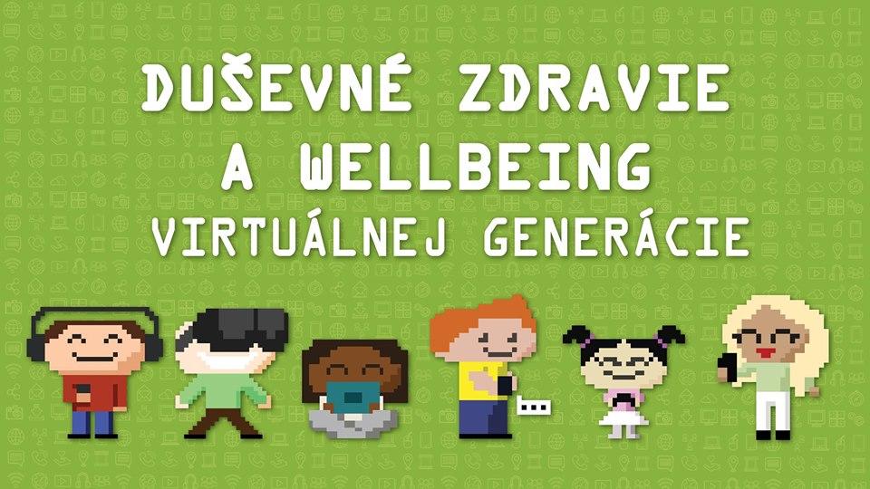 PonukyKonferencia Duševné zdravie a wellbeing virtuálnej generácie