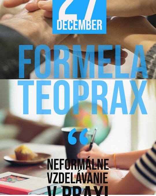 "PonukyŠkolenie – ""Formela Teoprax"""