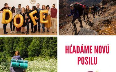 Hľadá sa manažérka/manažér vzdelávacieho programu pre DofE Slovensko