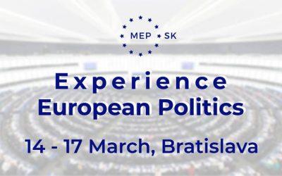 Modelové zasadnutie Európskeho parlamentu v Bratislave