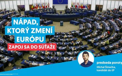 """Súťaž – """"Nápad, ktorý zmení Európu!"""""""
