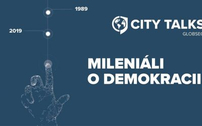 "GLOBSEC City Talks – ""Mileniáli o demokracii"""