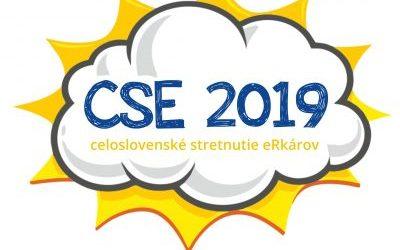 Otýždeň sa začne CSE 2019 vRužomberku, stretne sa viac ako 250 eRkárov