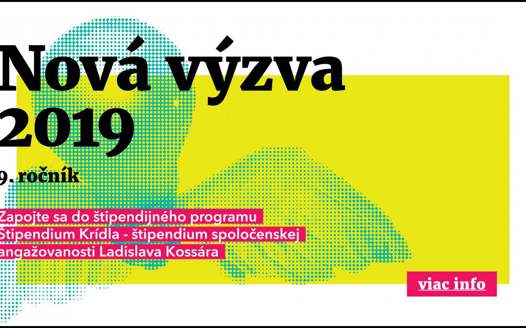 "PonukyŠtipendium – ""Krídla 2019"""
