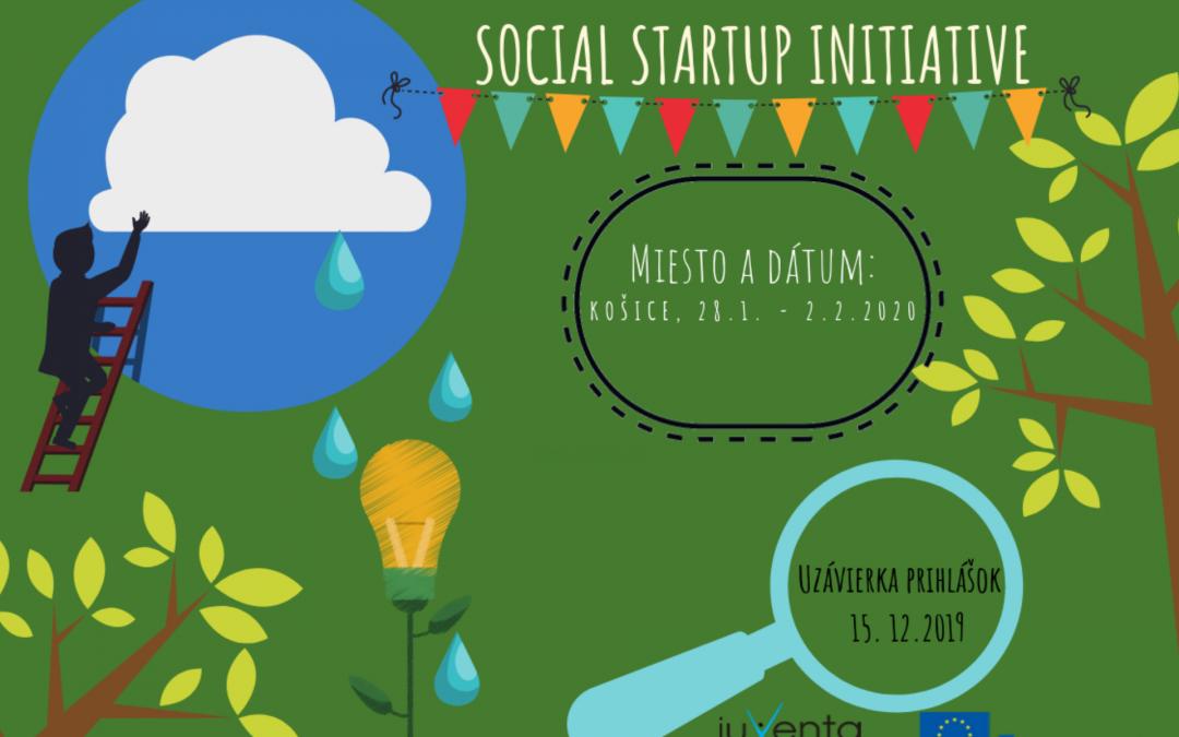 """PonukyMedzinárodné školenie – Build your own """"Social Startup Initiative"""""""