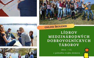 """Online kurz – """"Školenie lídrov medzinárodných dobrovoľníckych táborov"""""""